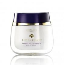 Zpevňující denní krém SPF 15 Royal Velvet 50 ml