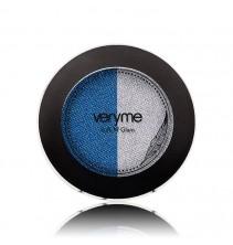 Duo očních stínů Very Me Soft N' Glam - Aqua Blue