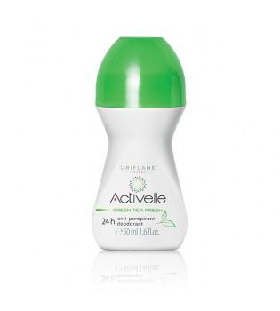 Kuličkový antiperspirant deodorant Activelle Green Tea 24h