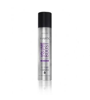 Objemový stylingový lak na vlasy HairX Volume Boost vlasy HairX Volume Boost