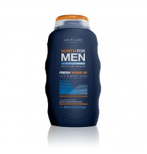 Šampón na vlasy a tělo 2 v 1 North For Men Fresh Wake Up 250 ml