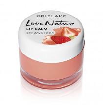 Jahodový balzám na rty Love Nature 7 g