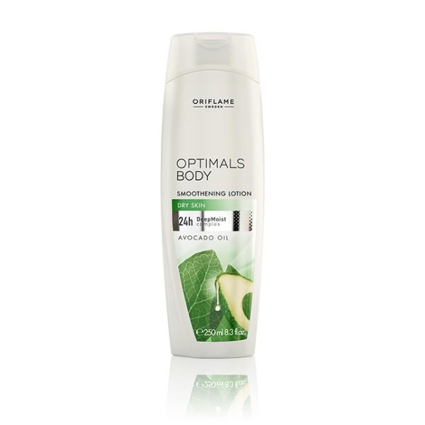 Vyhlazující tělové mléko Optimals s avokádovým olejem 250 ml