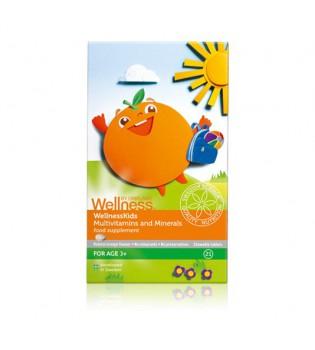 Multivitaminy a minerály pro děti WellnessKids