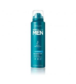 Antiperspirant deodorant ve spreji 24h North for Men Original
