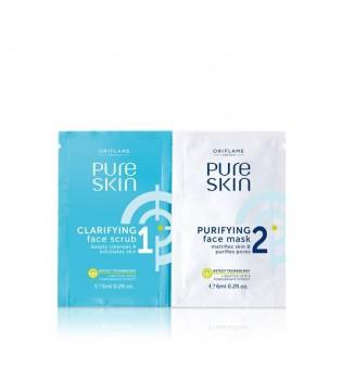 Peeling a čisticí maska 2 v 1 Pure Skin