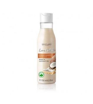 Kondicionér pro suché vlasy s pšenicí a kokosovým olejem Love Nature 250 ml