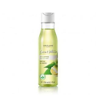 Šampon pro mastné vlasy s kopřivou a citrónem Love Nature 250 ml