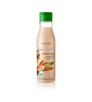 Vyživující krémový sprchový gel s mandlovým olejem Love Nature 250 ml