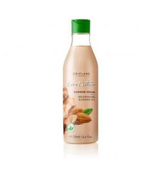 Vyživující krémový sprchový gel s mandlovým olejem Love Nature - maxi balení 500 ml