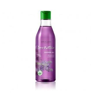 Zklidňující sprchový gel s levandulí Love Nature - maxi balení 500 ml