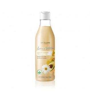 Šampon 2 v 1 s avokádovým olejem a heřmánkem Love Nature - maxi balení 500 ml