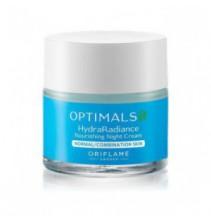 Noční vyživující krém pro normální/smíšenou pleť Optimals Hydra Care 50 ml
