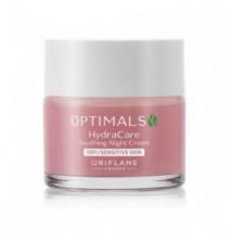 Noční zklidňující krém pro suchou/citlivou pleť Optimals Hydra Care 50 ml