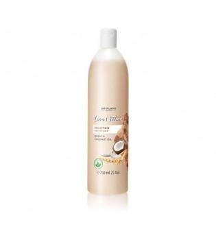 Šampon pro suché vlasy s pšenicí a kokosovým olejem Love Nature - maxi balení