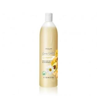 Šampon 2 v 1 s avokádovým olejem a heřmánkem Love Nature - jumbo balení 750 ml
