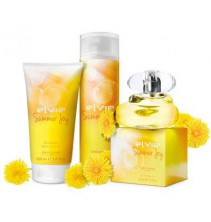 Elvie Summer Joy sada - EDT 50 ml + Tělové mléko 150 ml + Sprchový gel 200 ml
