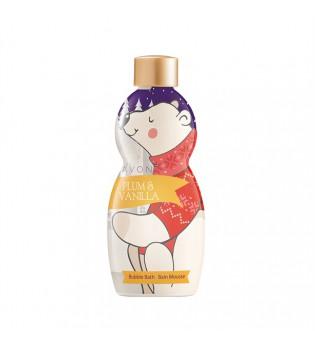 Sprchový gel a pěna do koupele v 1 s vůní švestky a vanilky 250 ml