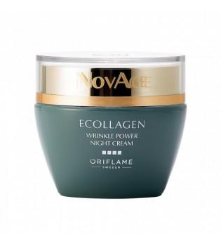 Noční krém NovAge Ecollagen Wrinkle Power