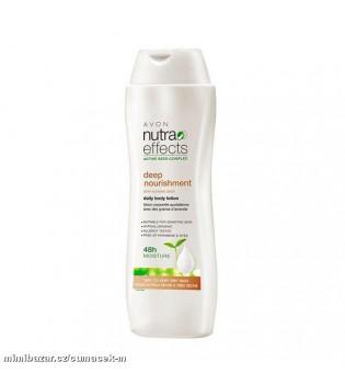 Nutraeffects Hloubkově vyživující tělové mléko s mandlovým olejem - 400 mll