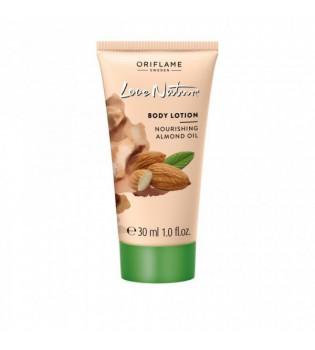 Vyživující tělové mléko s mandlovým olejem Love Nature - mini balení