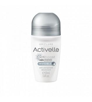 Kuličkový antiperspirant deodorant Activelle Invisible 50 ml
