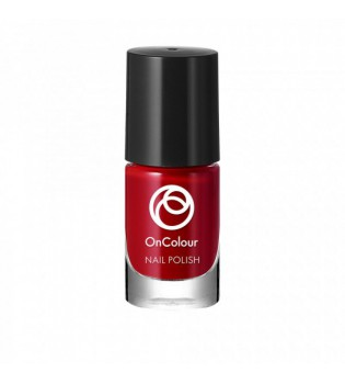 Lak na nehty OnColour - Spicy Red 5 ml