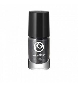 Lak na nehty OnColour - Silver Black 5 ml