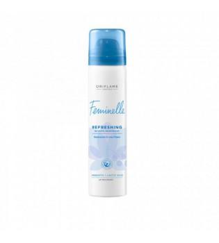 Osvěžující deodorant pro intimní hygienu s černým rybízem a lotosem Feminelle