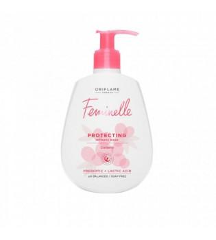 Ochranný mycí gel pro intimní hygienu Feminelle s brusinkami 300 ml