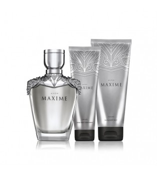 Maxime For Him Sada - EDT 75 ml + Sprchový gel 200 ml + Balzám po holení 100 ml
