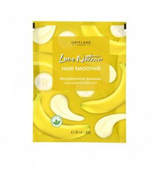 Zvláčňující maska na suché vlasy s banánem Love Nature Smoothie 30 ml