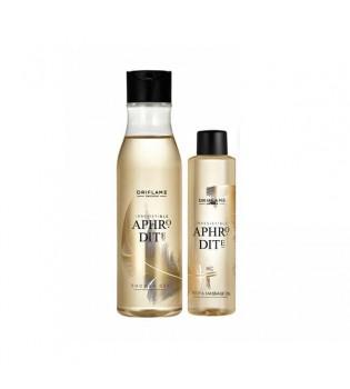 Aphrodite Sada -Sprchový ge 250 ml +Tělový a masážní olej 100 ml