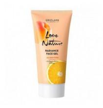Rozjasňující pleťový gel s bio meruňkami a pomerančem Love Nature 50 ml