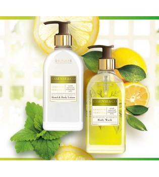Sada Essense & Co s citrónem a verbenou - Mléko na ruce a tělo 300 ml  + Sprchový gel 300 ml