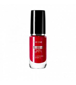 Gelový lak na nehty The ONE Ultimate - Fiery Red 8 ml