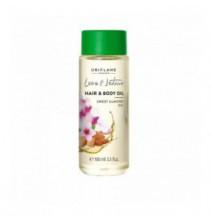 Mandlový olej na tělo a vlasy Love Nature 100 ml