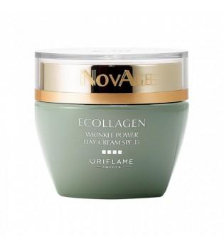Denní krém NovAge Ecollagen Wrinkle Power SPF 35 50 ml
