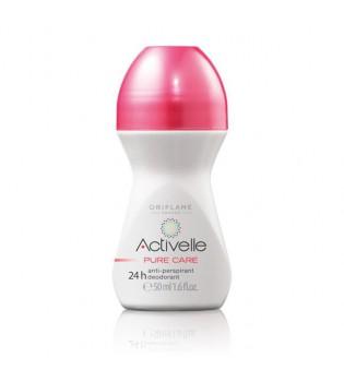 Kuličkový antiperspirant deodorant 24h Activelle Pure Care